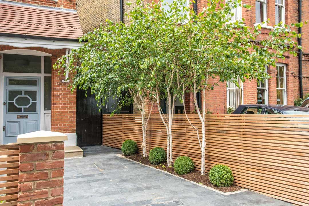 Ornate Trellis Fence, London, 5