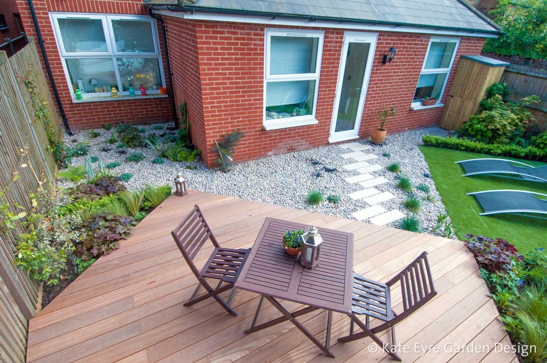 Back Gardens In London Kate Eyre Garden Design - Pictures of back gardens