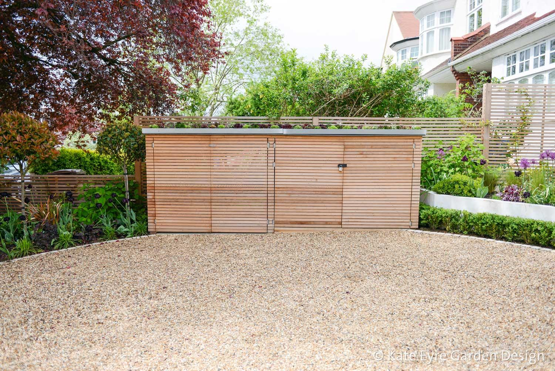 Front garden design, Court Lane, London, 3