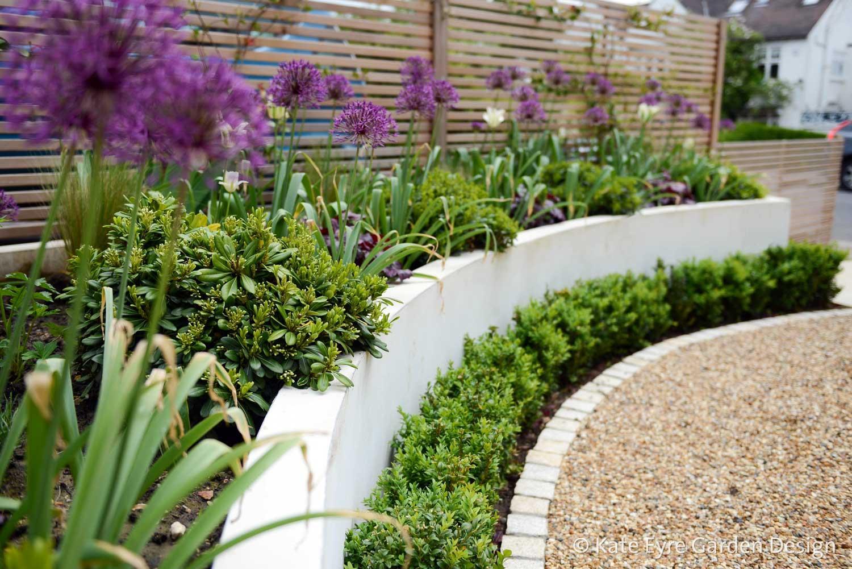 Front garden design, Court Lane, London, 5