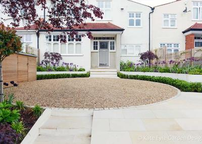 Front garden design, Court Lane, London, 6