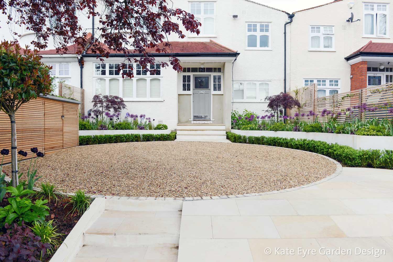 Front garden design, Court Lane, London, 6