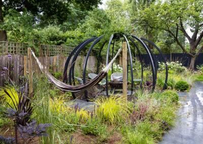 Back garden in Court Lane, Dulwich, 8