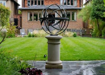 Back garden in Court Lane, Dulwich, 2