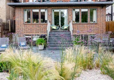 Back garden in Court Lane, Dulwich, 7