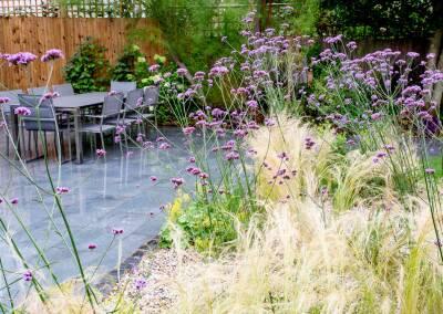 Back garden in Court Lane, Dulwich, 5