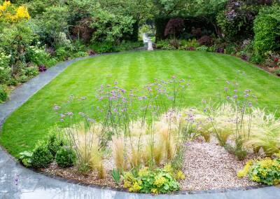 Back garden in Court Lane, Dulwich, 1