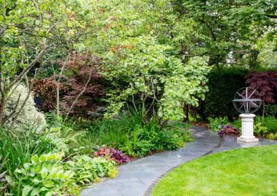 Back garden in Court Lane, Dulwich, 6
