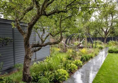 Back garden in Court Lane, Dulwich, 9