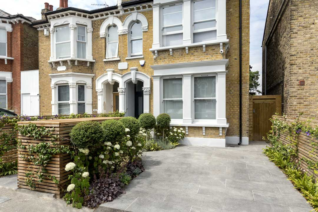 Front Driveway in London, 9