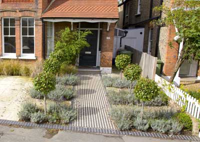 Front Garden Design, Calton Ave, London