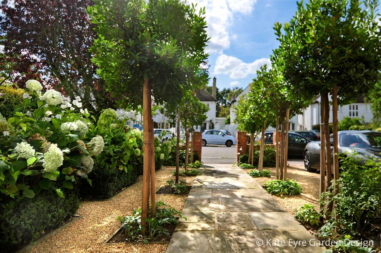 Front garden design, Burbage Road, Dulwich, 6