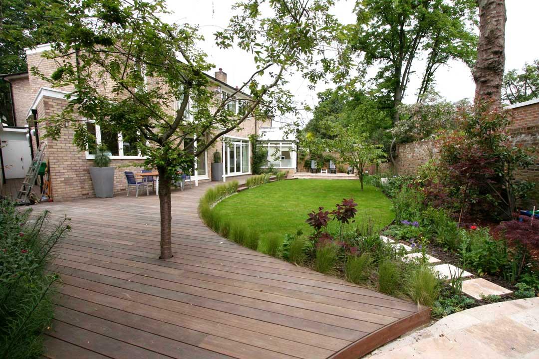 Garden decking, London, 3