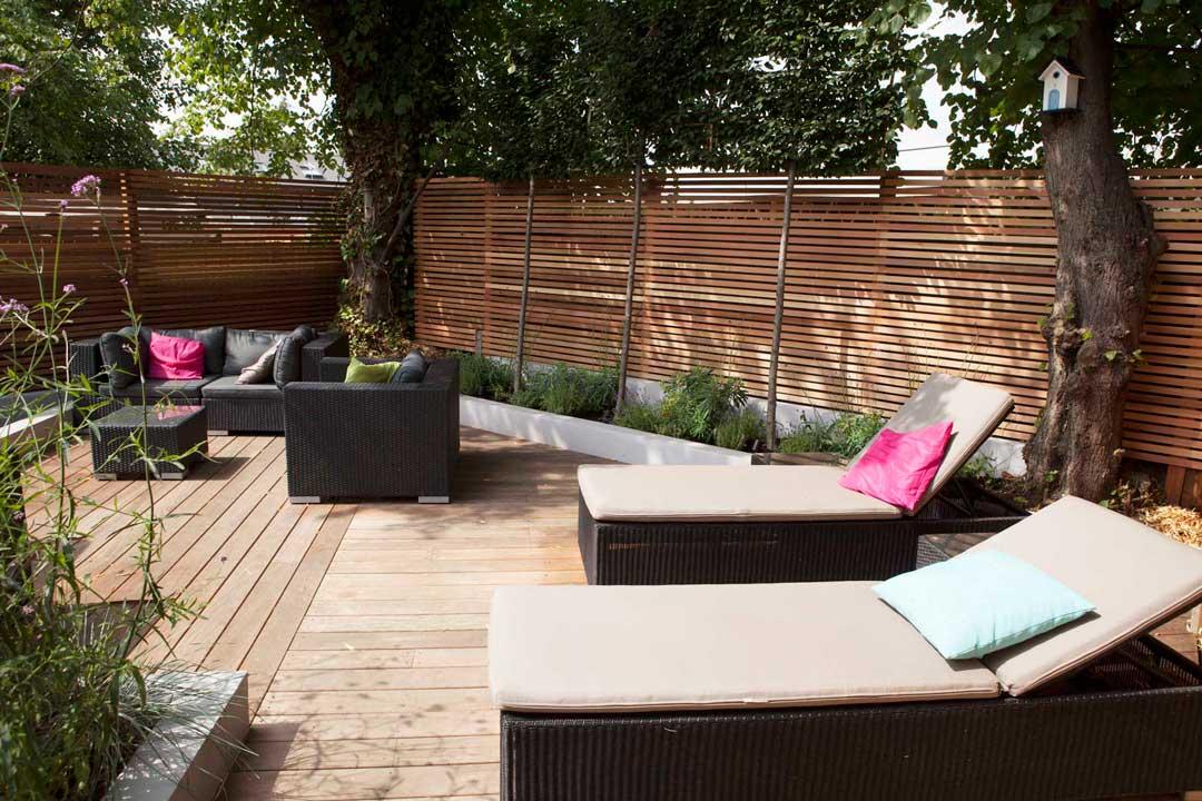 Garden decking, London, 5
