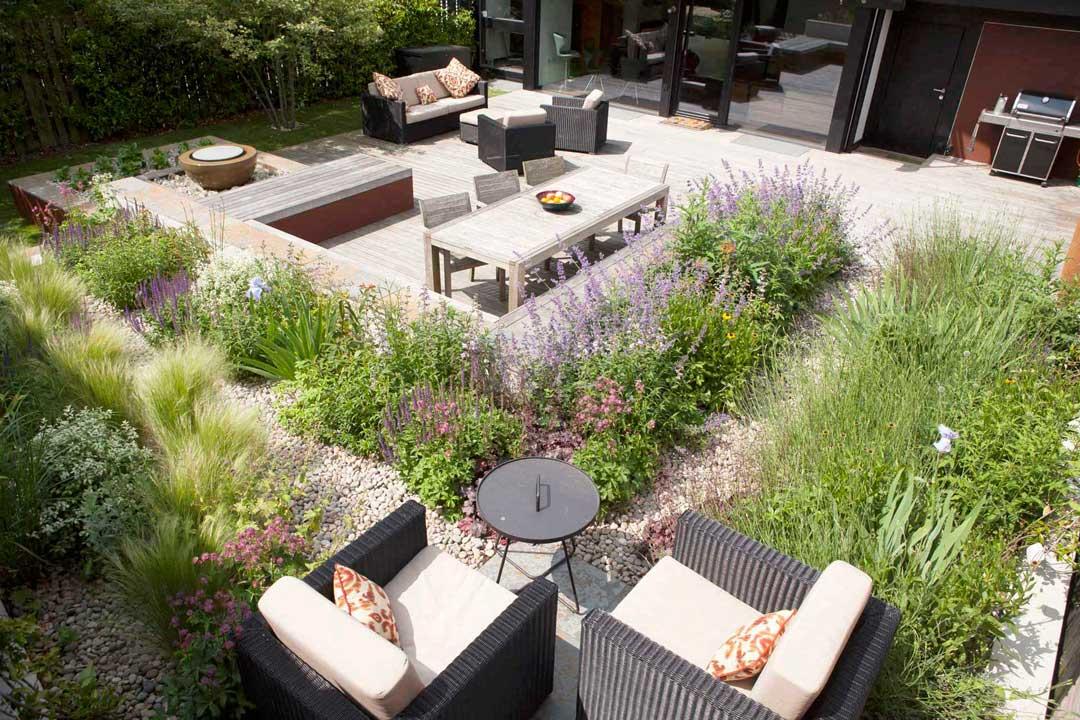 Garden decking, London, 7
