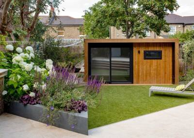 Back garden design, Ildersly Grove, 5