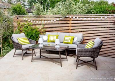 Ildersly Grove 9: terrace with outdoor lounge set