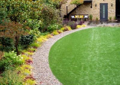 Back garden design, Alleyn Rd, 8