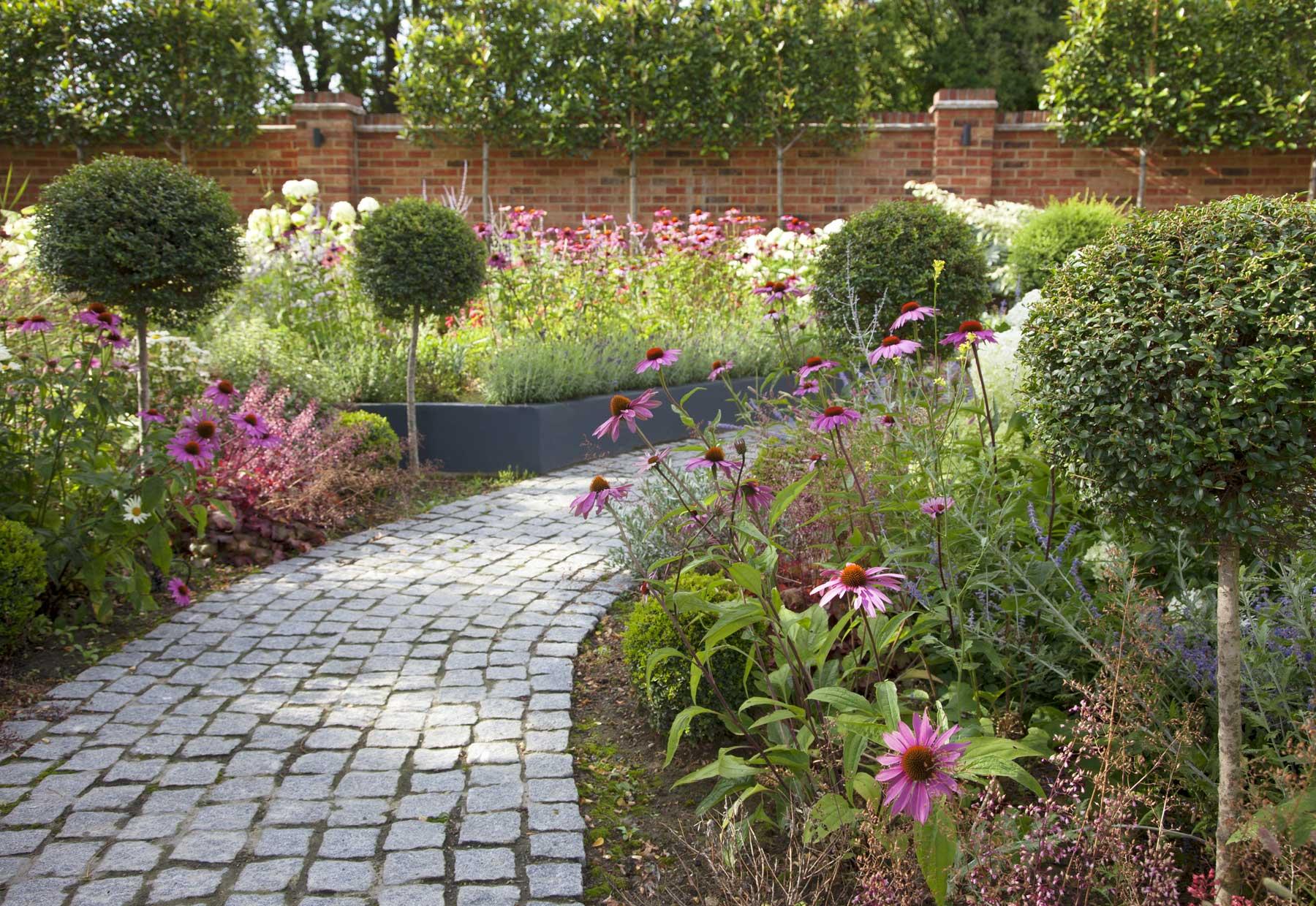 Wrap-around garden design in Allison Grove, Dulwich, 2