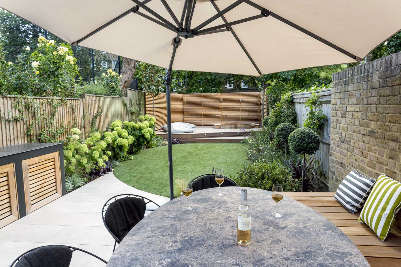 Back garden, Camberwell Grove, 4