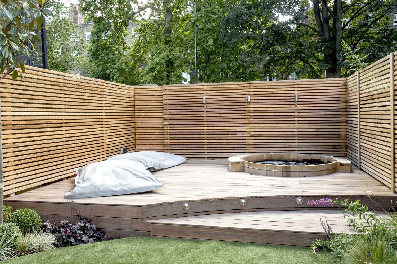 Back garden, Camberwell Grove, 5