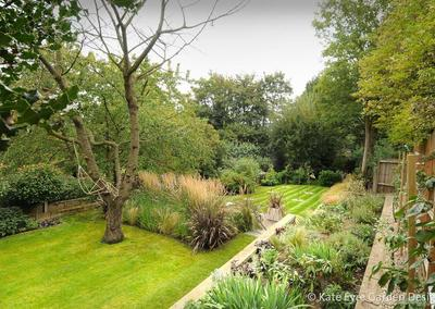 Large back garden design in Crystal Palace, South London, 3