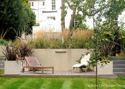 Large back garden design in Crystal Palace, South London, 9