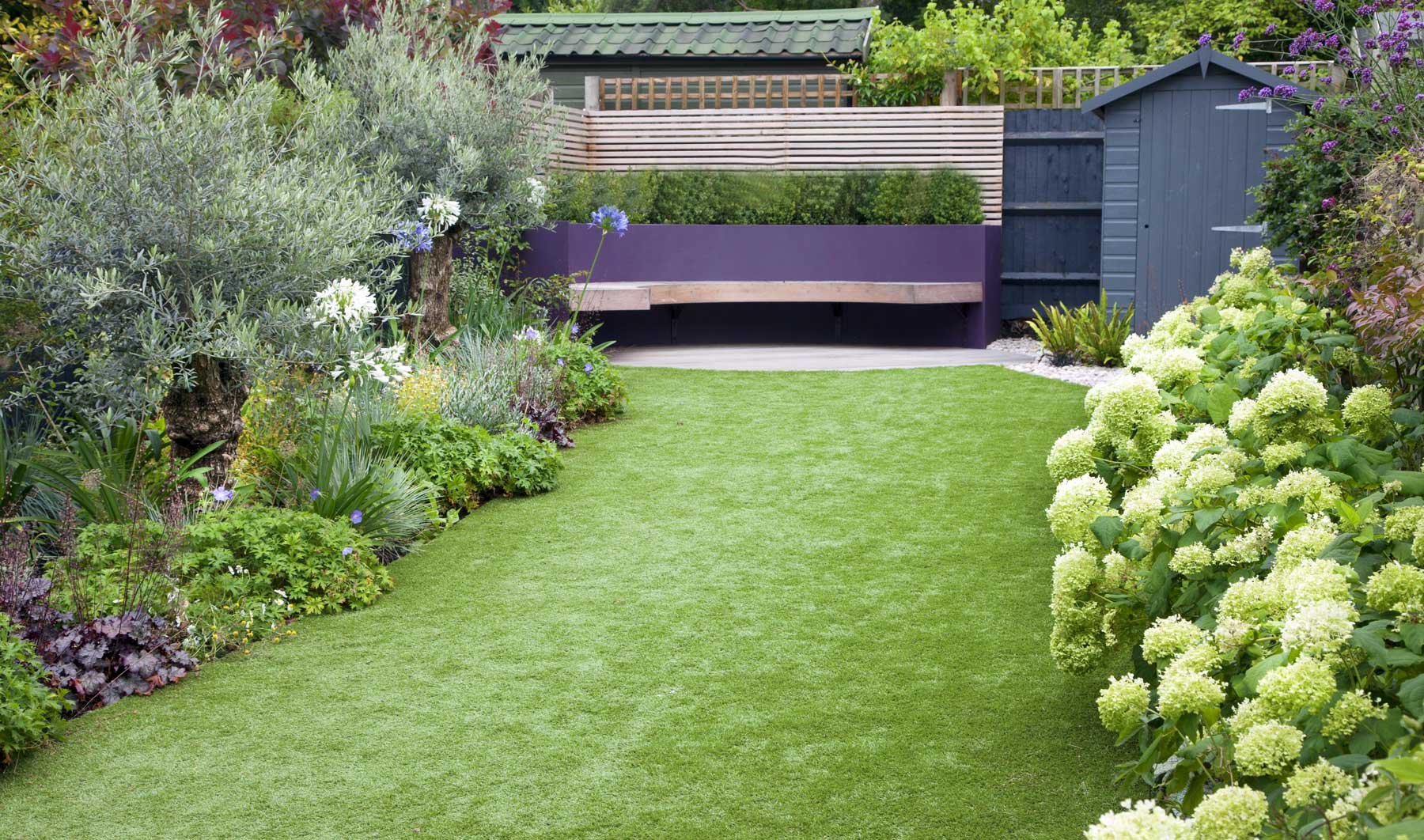 Medium Back Garden Design In Druce Road Dulwich 6