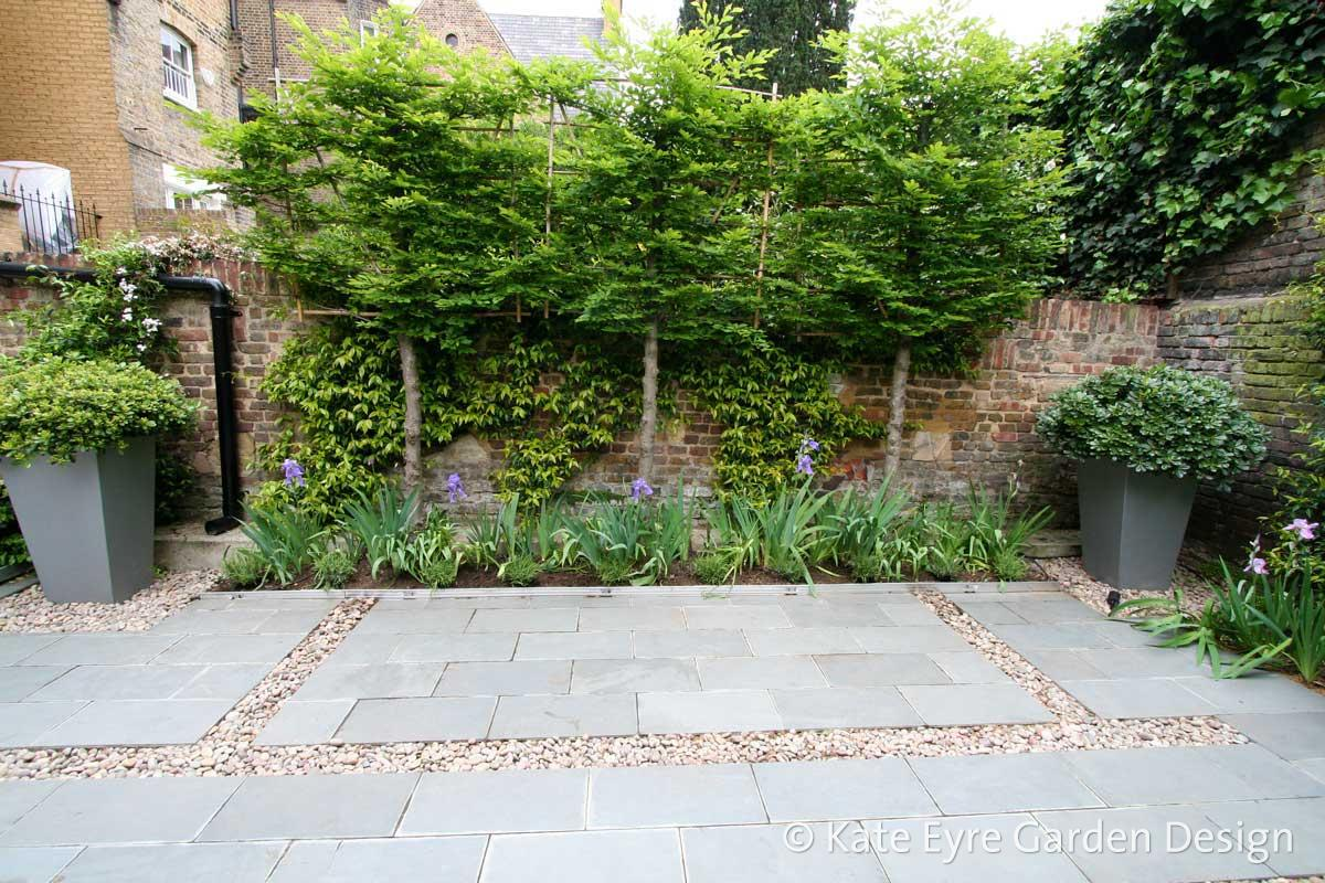 Small back garden design, Kensington, 3