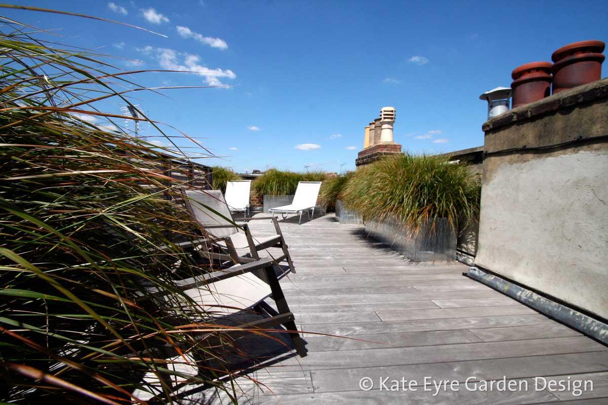 Roof garden design in Kensington, 3