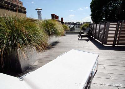 Roof garden design in Kensington, 4
