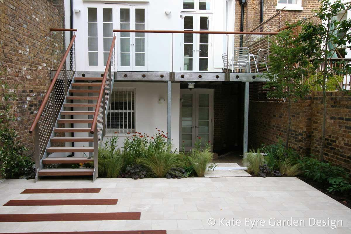 Small garden design in Argyll Rd, Kensington, 3