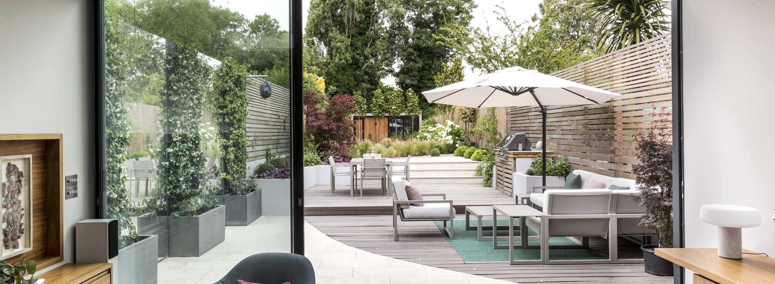 Back garden, Friern Road, London
