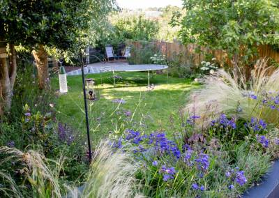 Garden Design in Augustus Road, Southfields, 4