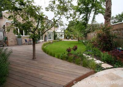Garden design in St John's Wood, 1