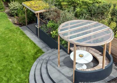 Back Garden Design in Ryecroft Road, Streatham, 4