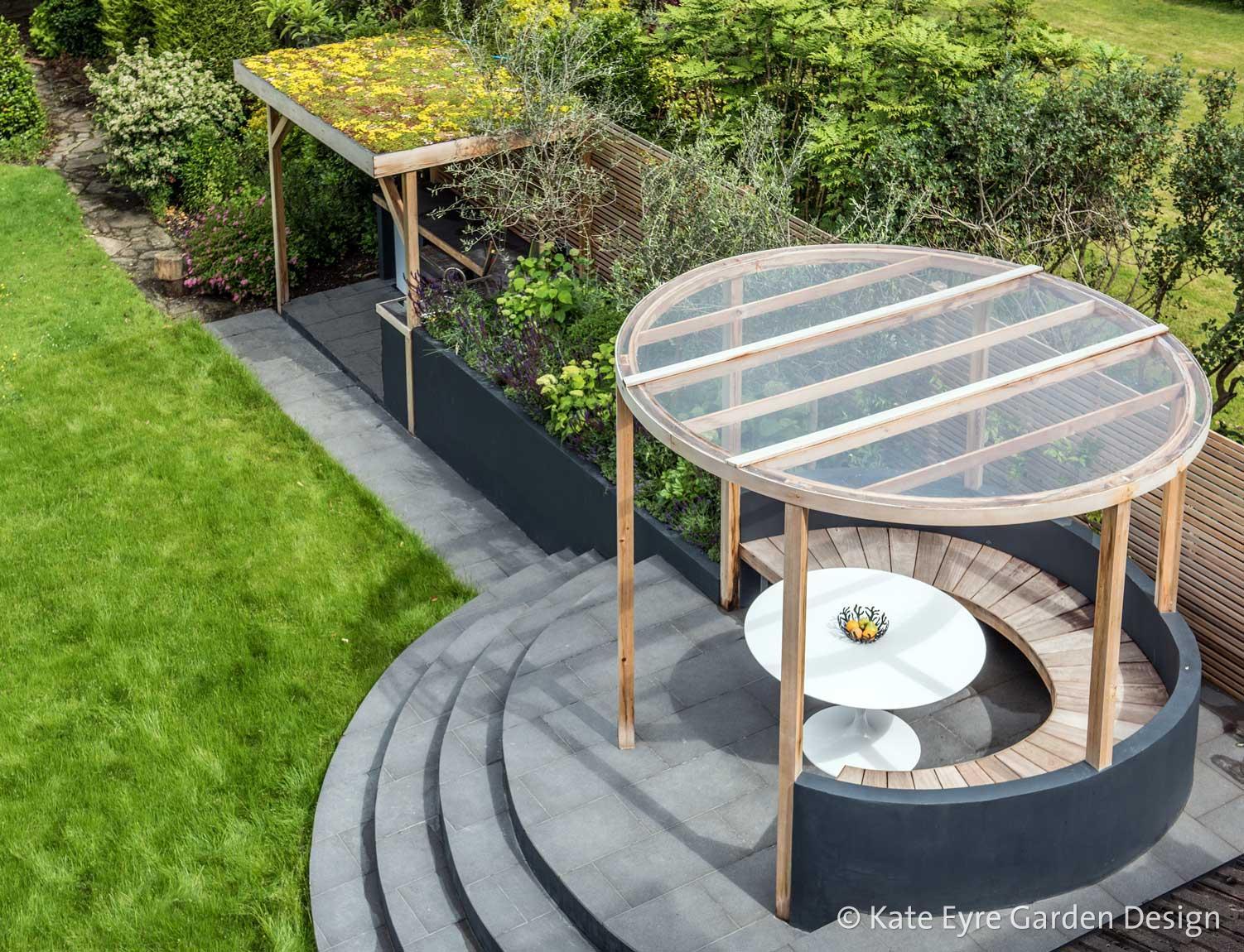 Back Garden Design in Ryecroft Road, Streatham, 4