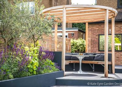 Back Garden Design in Ryecroft Road, Streatham, 6