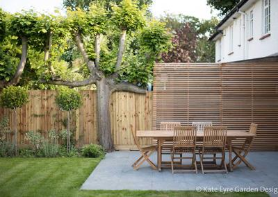 Large back garden design in Turney Road, Dulwich, 7