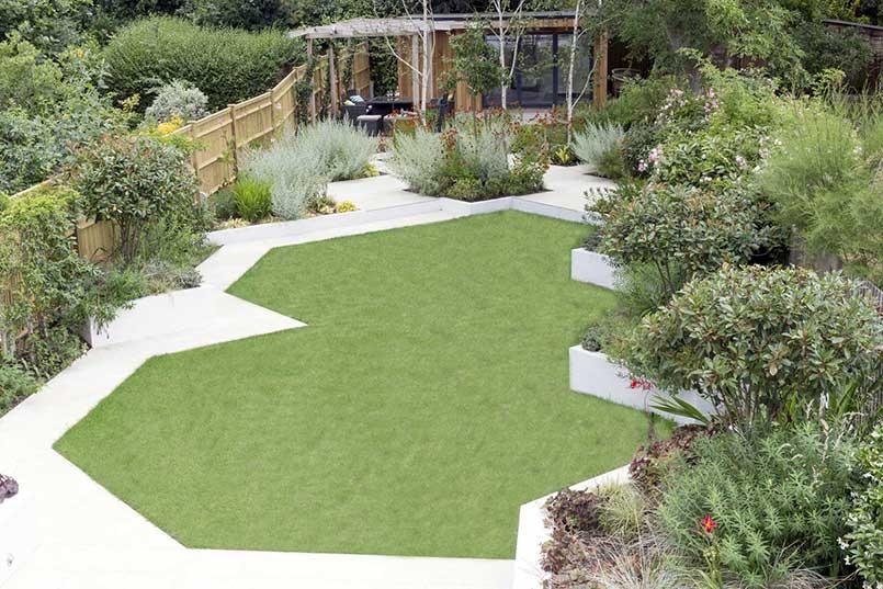 Back garden design 2, Calton Avenue, London