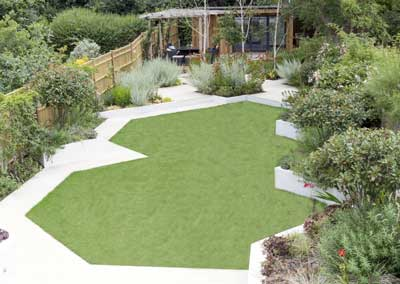 Back garden design 2, Calton Ave, London