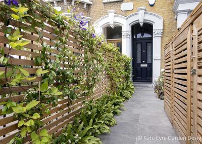 Front garden driveway, Friern Road, 2