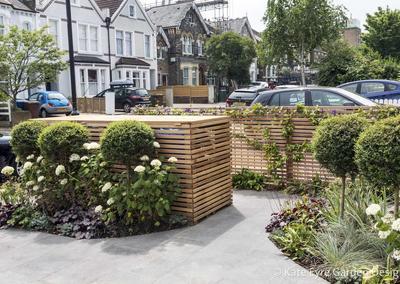 Front garden driveway, Friern Road, 5
