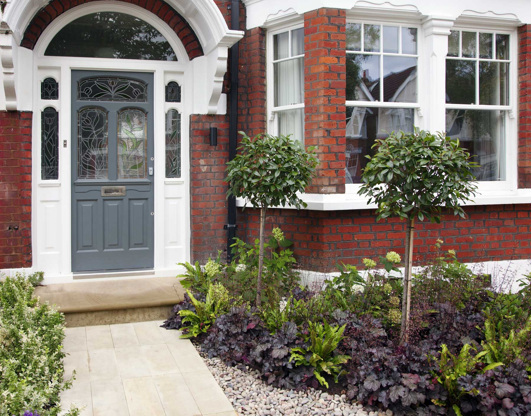 front garden design in turney road london 1 - Front Garden Ideas London