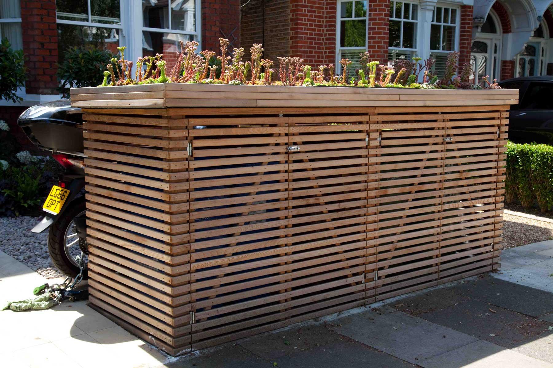 Front garden design in Turney Road, London, 4