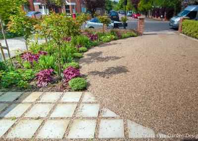 Front garden design in Chestnut Road, London, 3