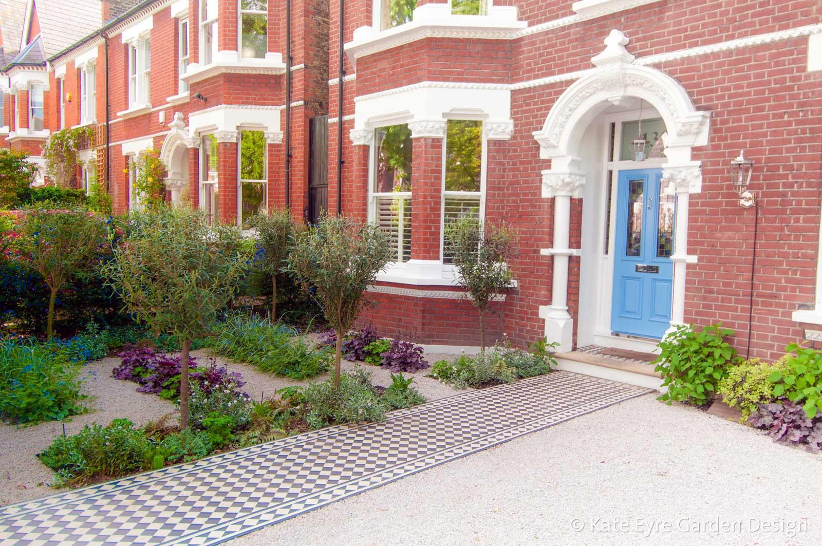 Front Garden Design in Rosendale Road, London, 3