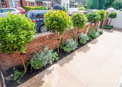 Front garden design in Idmiston Road, London, 3