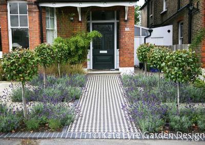 Front Garden Design 2 in Calton Avenue, 1