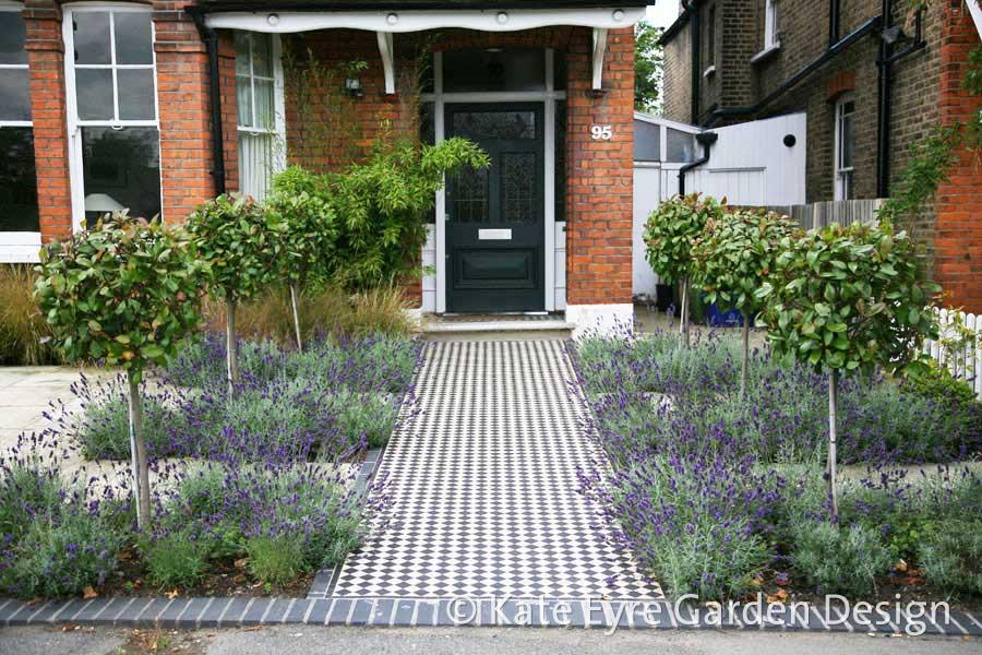 Front Garden Design garden design with front garden caroline crawford garden design sw london london with outdoor herb Front Garden Design In Calton Avenue 1